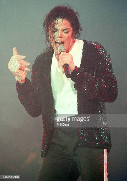 Michael Jackson performs live on stage Jerudong Park Brunei July 16 1996
