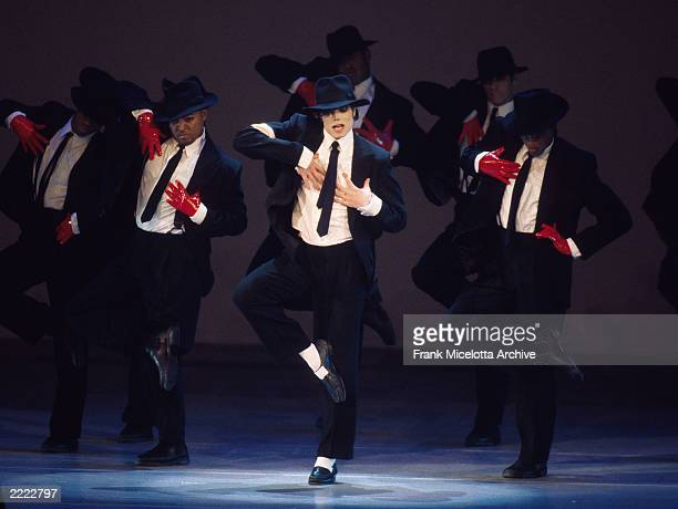 Michael Jackson performs onstage at the 1995 Video Music Awards in Los Angeles CA on September 7 1995