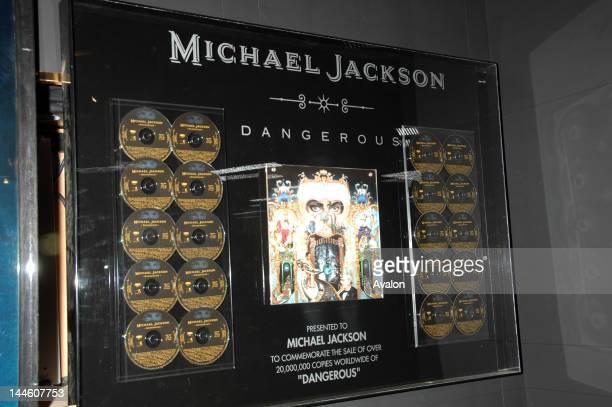 Michael Jackson Platinum Albums from Neverland