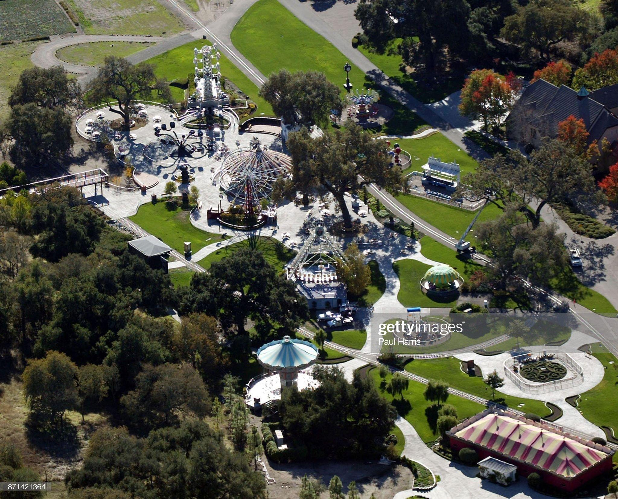 Michael Jackson's infamous Neverland Ranch : Fotografia de notícias