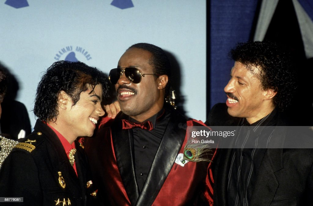 Michael Jackson, Stevie Wonder and Lionel Richie