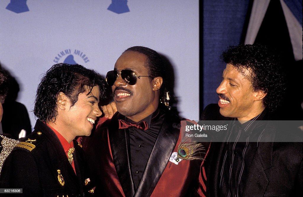 Michael Jackson, Stevie Wonder & Lionel Richie