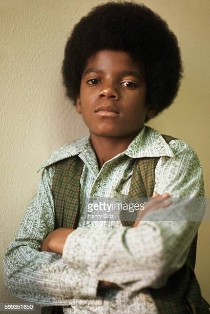 Michael Jackson the young star of the Jackson Five