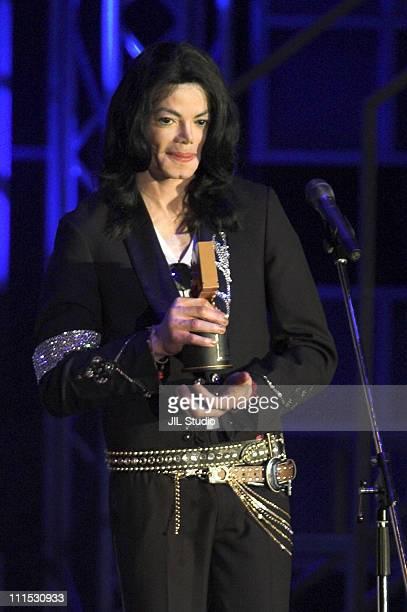 Michael Jackson, winner of the Legend Award during MTV Video Music Awards Japan 2006 - Show at Yoyogi National Stadium in Tokyo, Japan.