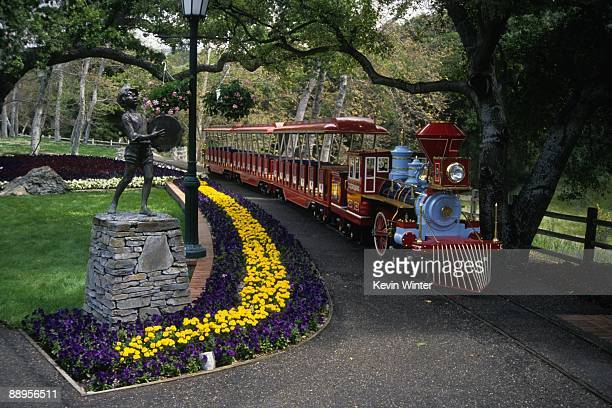 Michael Jackson's Neverland Ranch is pictured in this 1995 photo.