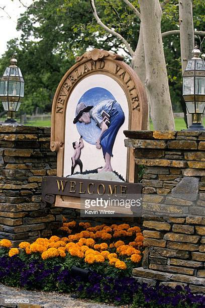 Michael Jackson's Neverland Ranch is pictured in this 1995 photo