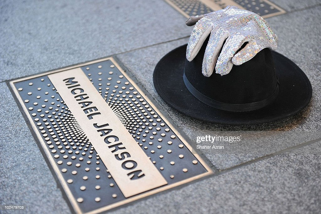 First Anniversary Of Michael Jackson's Death Observed In New York City : News Photo