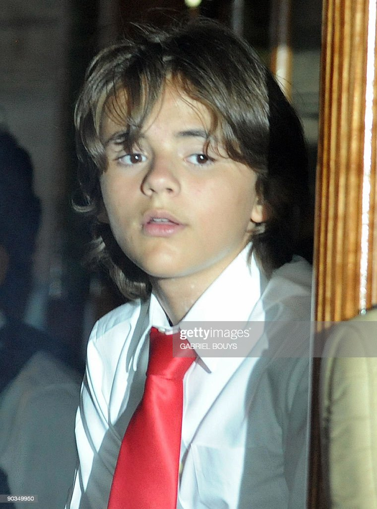 Michael Jackson's son Prince Michael lea : News Photo