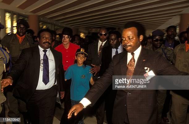 Michael Jackson's Visit In Gabon On February 1st 1992