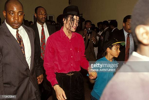 Michael Jackson's Visit On February 1st 1992 In Gabon
