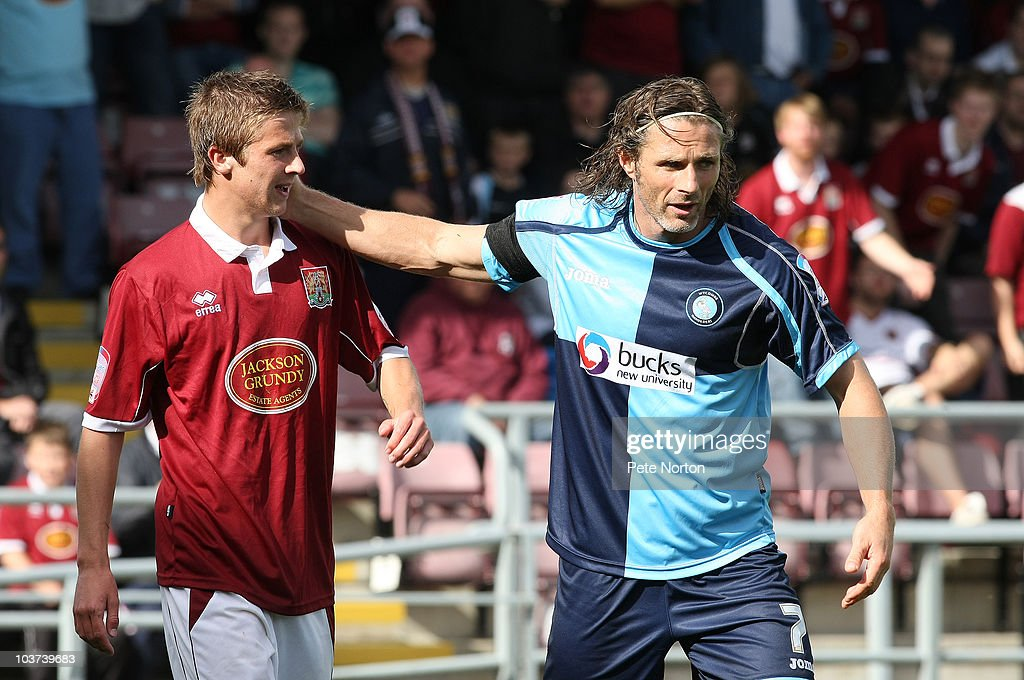 Northampton Town v Wycombe Wanderers -npower League Two