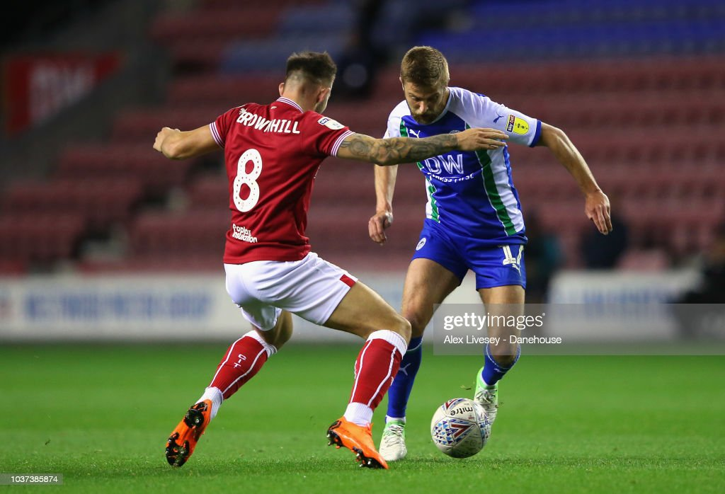 Wigan Athletic v Bristol City - Sky Bet Championship