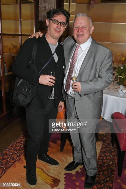 Michael Jaffe and Richard Fiennes attend as Sketch celebrate it's 15th anniversary on February 27 2018 in London England