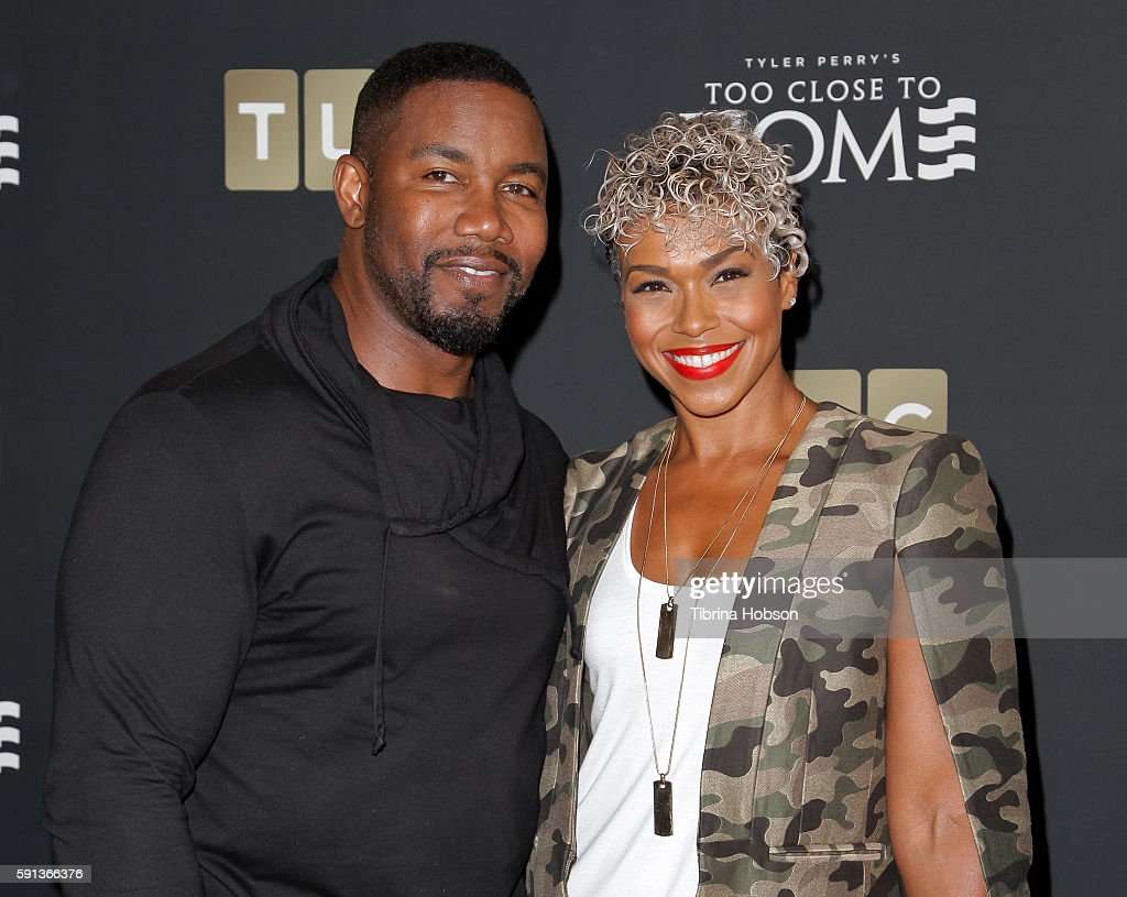 Michael Jai White and Gillian White attend the Screening of TLC Networks 'Too Close To Home' at The Paley Center for Media on August 16, 2016 in Beverly Hills, California.
