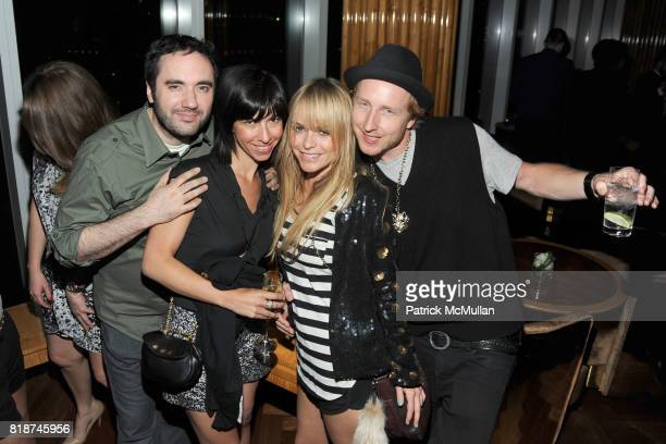 Michael James Claudine Gumbel Taryn Manning and Michael Linney attend SWAROVSKI After Party for the 2010 CFDA Awards at The 18th Floor on June 7 2010...