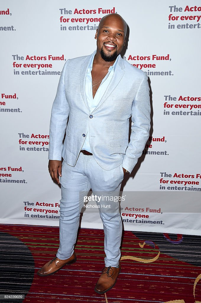 Michael James Scott attends The Actors Fund 2016 Gala at Marriott Marquis Times Square on April 25, 2016 in New York City.