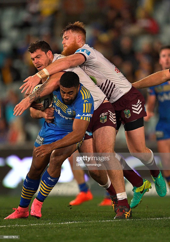 NRL Rd 22 - Eels v Sea Eagles