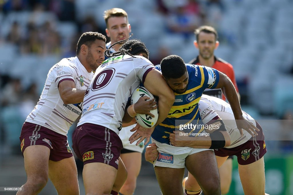 NRL Rd 7 - Eels v Sea Eagles