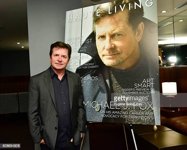 Michael JFox attends the Haute Living Celebrates New York Michael J Fox Cover Launch With Hublot And JetSmarter at Domenico Vacca on December 8 2016...