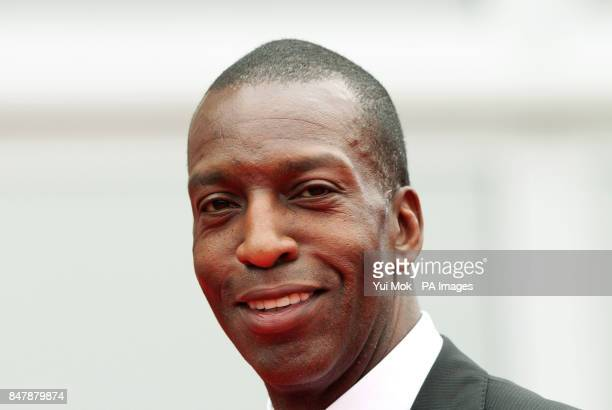 Michael Johnson arriving at the annual Sport Industry Awards at Battersea Evolution in south London