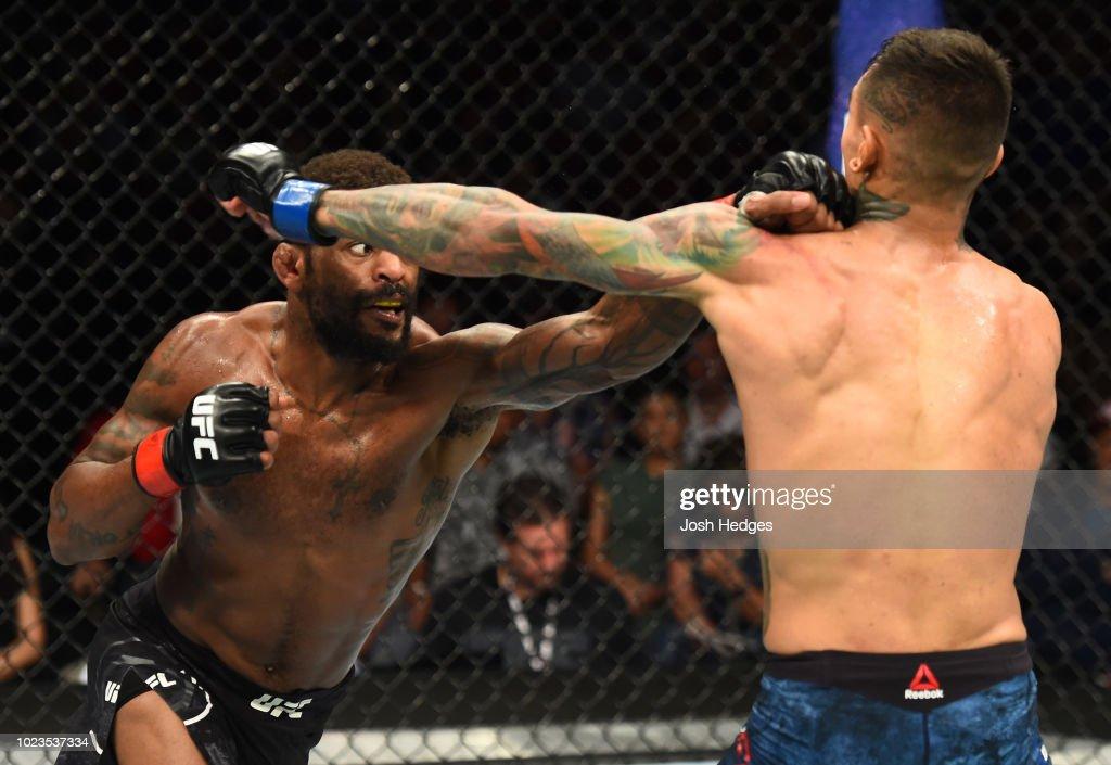 UFC Fight Night: Johnson v Fili : News Photo