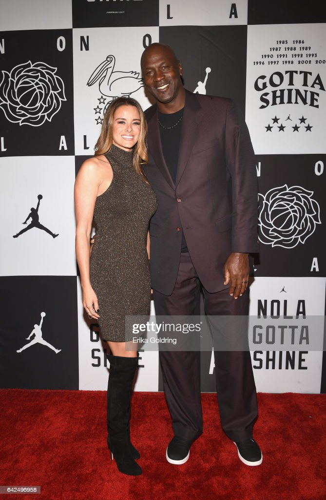 Michael Jordan and Yvette Prieto attend Jordan Brand: 2017 All-Star Party at Seven Three Distilling Co. on February 17, 2017 in New Orleans, Louisiana.