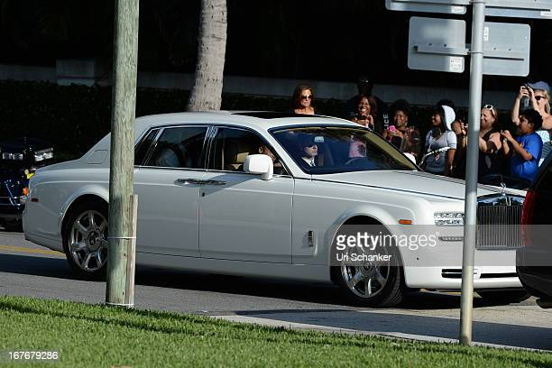 Michael Jordan at his wedding at Bethesdabythe Sea church on April 27 2013 in Palm Beach Florida