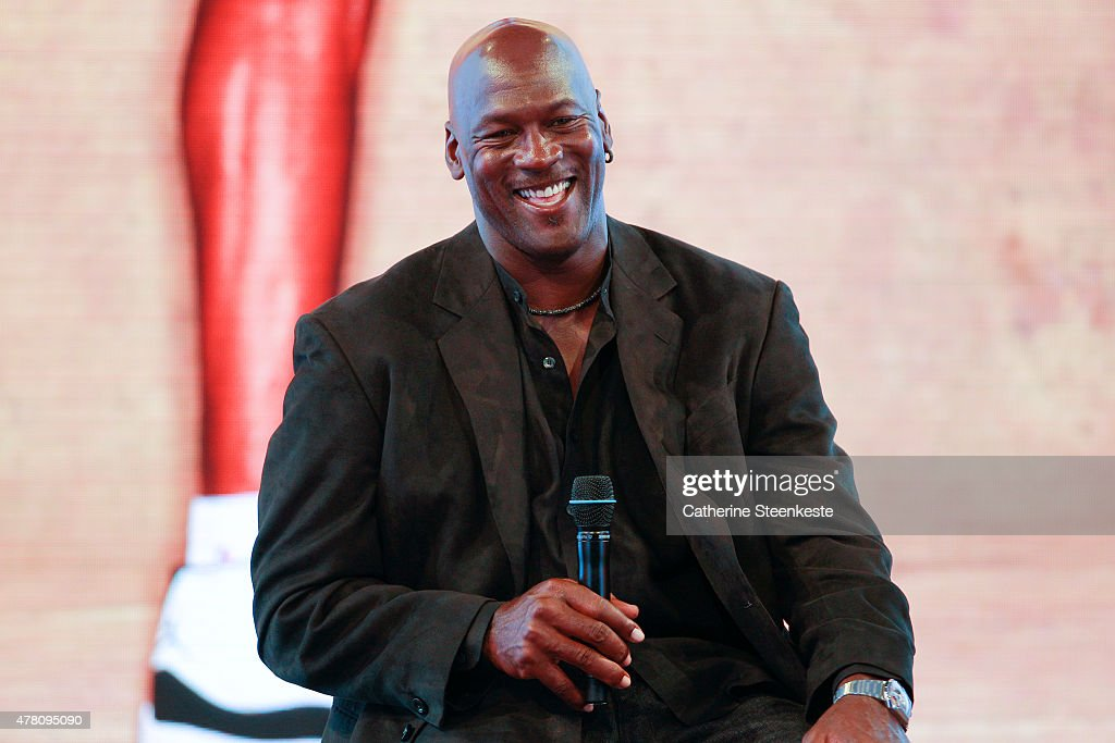 Michael Jordan Celebrates the 30th Anniversary of Air Jordan At Palais de Tokyo In Paris : ニュース写真