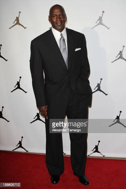 Michael Jordan attends Jordan AllStar With Fabolous 23 at Isleworth Golf Country Club on February 25 2012 in Windermere Florida