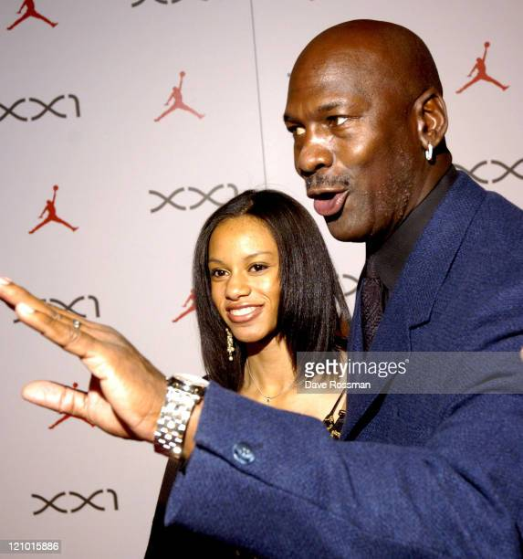 Michael Jordan during Air Jordan XXI Launch Event in Houston, Texas, United States.