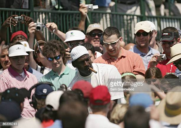 Michael Jordan during the Pro-Am prior to the 2007 Wachovia Championship held at Quail Hollow Country Club in Charlotte, North Carolina on May 2,...