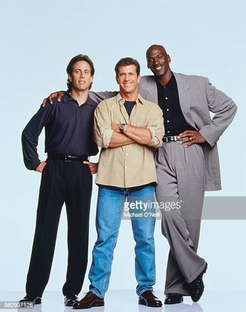 Michael Jordan Jerry Seinfeld and Mel Gibson