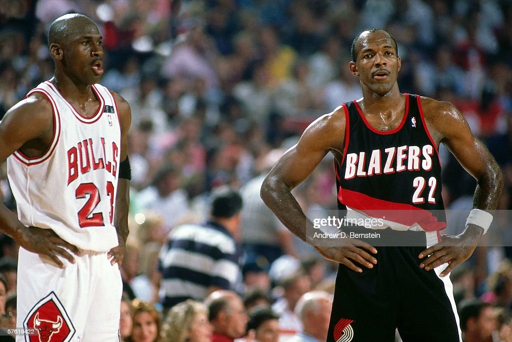 Jordan Air Vs Clyde Drexler
