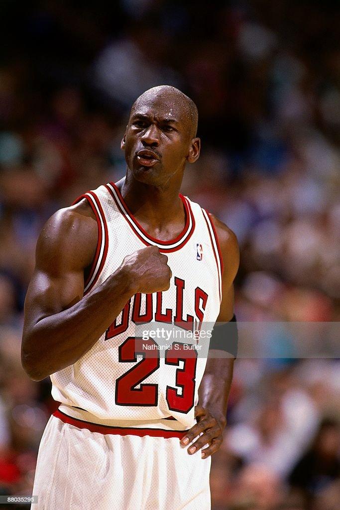 1995 Eastern Conference Semifinals, Game 4: Orlando Magic vs. Chicago Bulls : ニュース写真