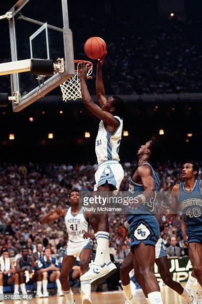 Michael Jordan Shooting the Ball