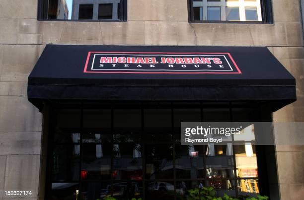 Michael Jordan's Steakhouse, in Chicago, Illinois on SEPTEMBER 16, 2012.