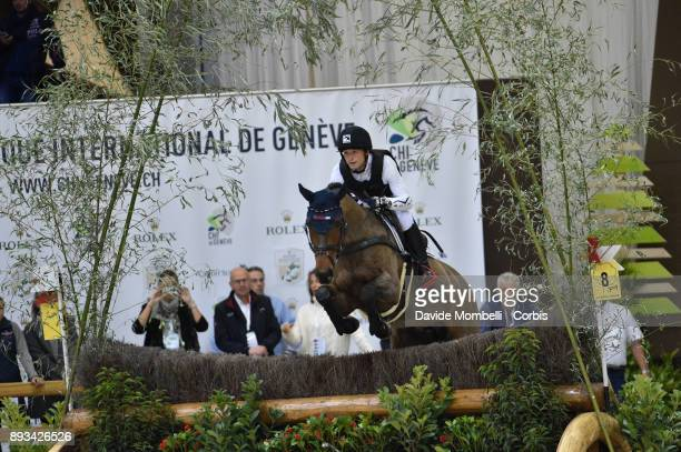 Michael JUNG of Germany riding Corazon during the Cross Indoor sponsored by Tribune de Genève Rolex Grand Slam Geneva 2017