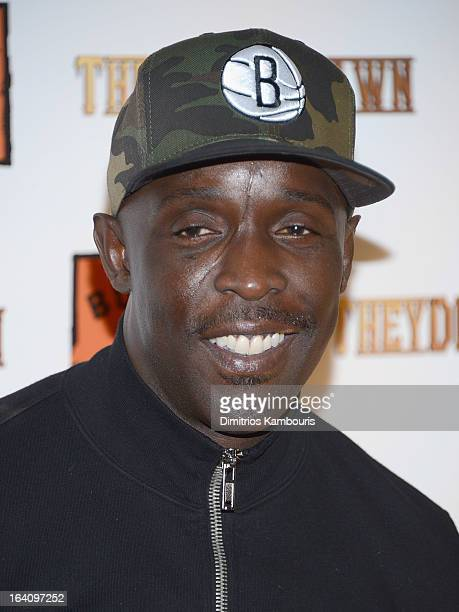 """Michael K Williams attends the """"They Die By Dawn"""" New York Screening at Tribeca Cinemas on March 19, 2013 in New York City."""