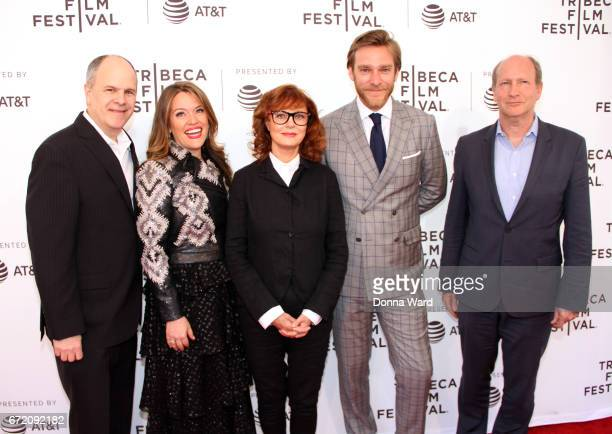 Michael Kantor Alexandra Dean Susan Sarandon Adam Haggiag and Doren Weber attend the 'Bombshell The Hedy Lamarr Story' Premiere at SVA Theatre on...