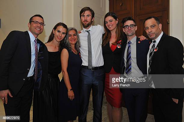 Michael Kaplan President and CEO of AIDS United Naomi deLuce Wilding Laela Wilding Tarquin Wilding Eliza Carson Quinn Tivey and Joel Goldman Managing...