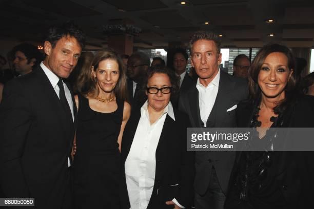 Michael Kaplan Sandy Brant Ingrid Sischy Calvin Klein and Donna Karan attend WELCOME TO GULU EXHIBITION AND BENEFIT ART SALE ANTIHUMAN TRAFFICKING...