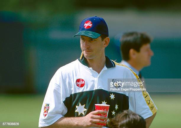 Michael Kasprowicz of Australia during the Australian Tour of England 15th May 1997