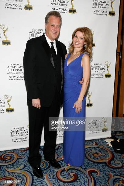 Michael Kay and Jodi Applegate attend the 54th Annual New York Emmy Awards at Marriott Marquis Times Square on April 3 2011 in New York City