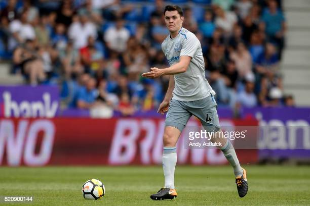 Michael Keane from Everton during the PreSeason Friendly between KRC Genk and Everton at Cristal Arena on July 22 2017 in Genk Belgium