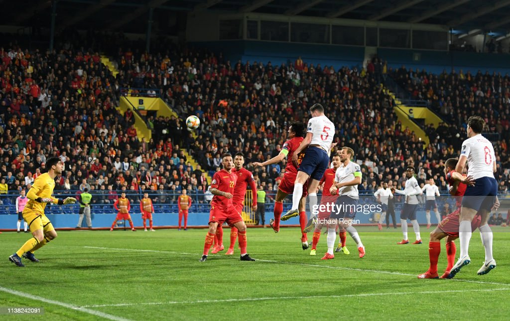 Montenegro v England - UEFA EURO 2020 Qualifier : News Photo