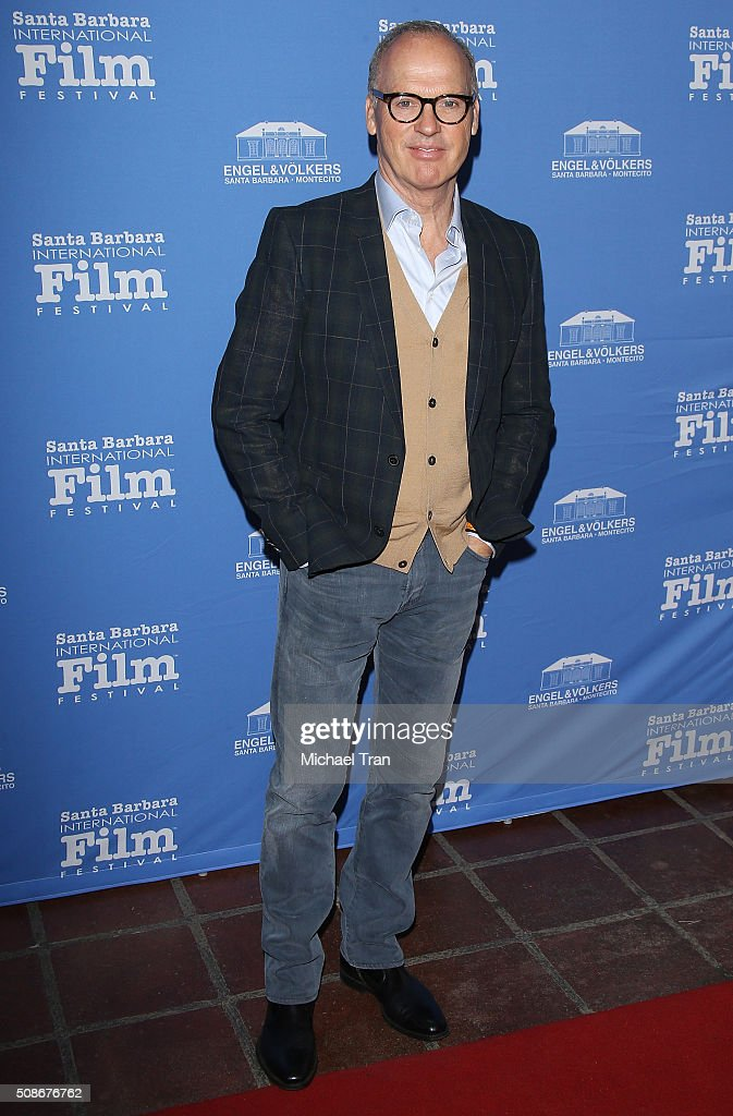 Michael Keaton arrives at the American Riviera Award during The 31st Santa Barbara International Film Festival held at Arlington Theatre on February 5, 2016 in Santa Barbara, California.