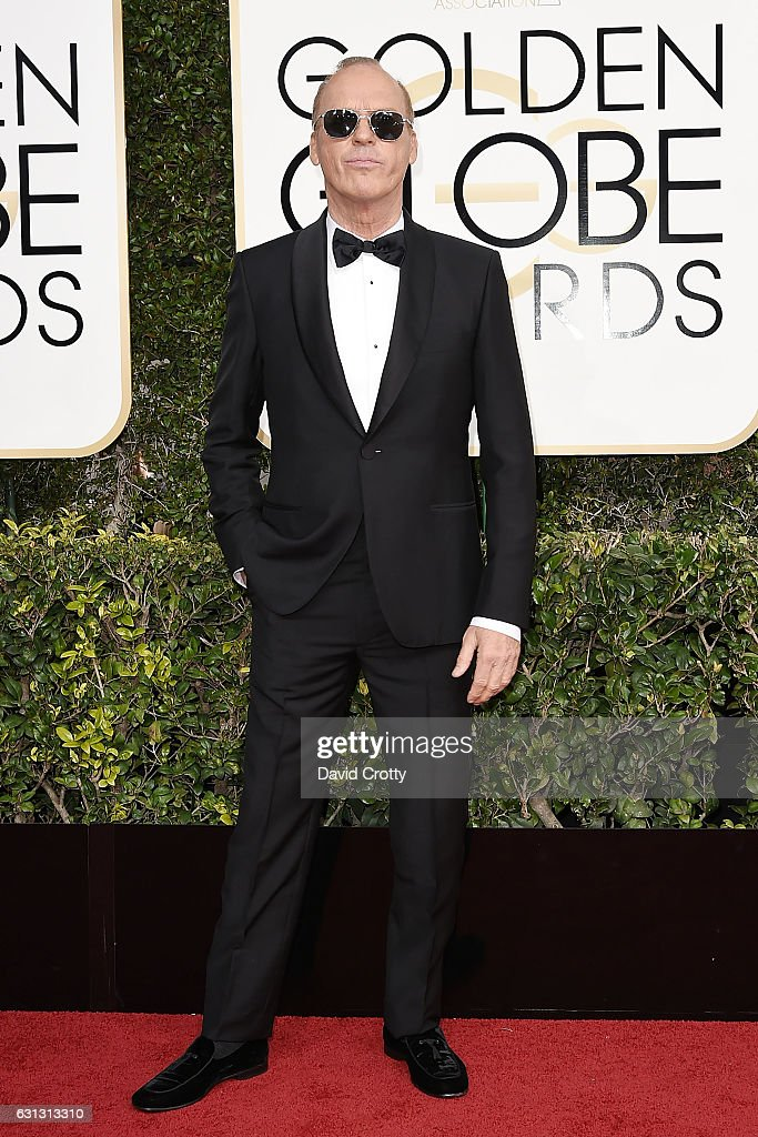 Michael Keaton attends the 74th Annual Golden Globe Awards - Arrivals at The Beverly Hilton Hotel on January 8, 2017 in Beverly Hills, California.