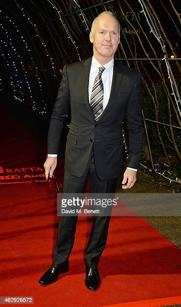 Michael Keaton attends the EE British Academy Awards nominees party at Kensington Palace on February 7 2015 in London England