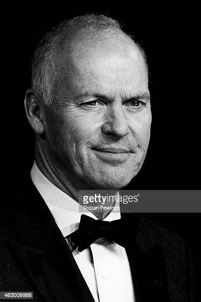 Michael Keaton attends the EE British Academy Film Awards at The Royal Opera House on February 8 2015 in London England