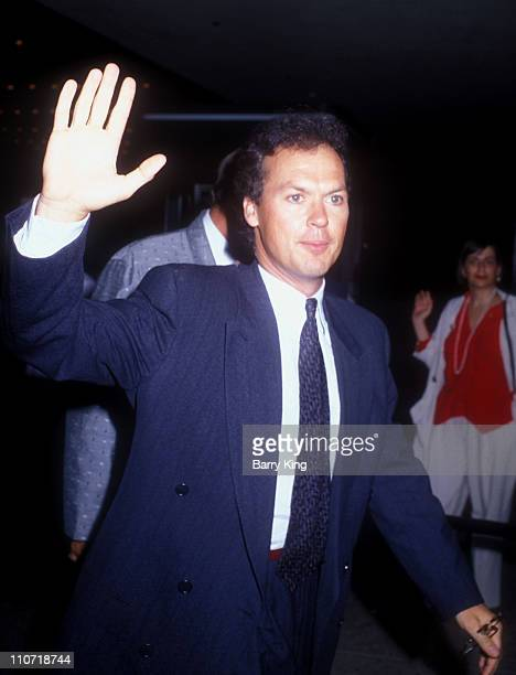 Michael Keaton during Batman Los Angeles Premiere at Mann Village theater in Westwood California United States